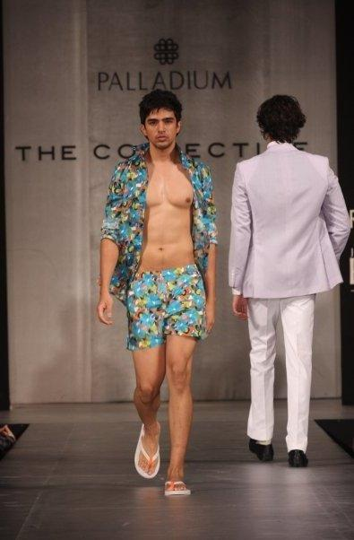 Saqib Saleem at a fashion show