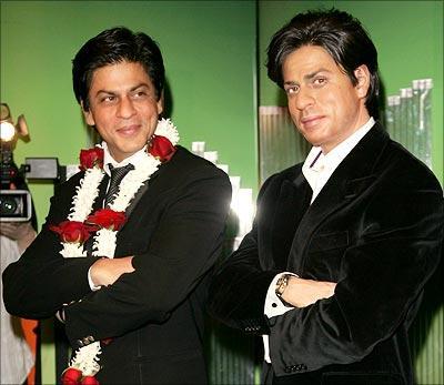 Shahrukh Khan at Madame Tussauds