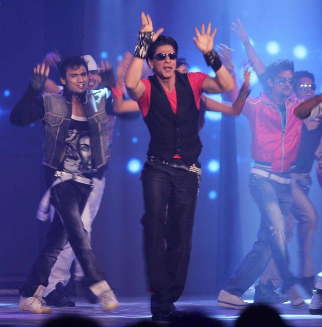 Shahrukh and Kareena At RaOne Music Launch