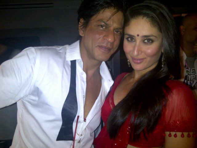 Shahrukh Khan & Kareena Kapoor At RaOne Music Launch