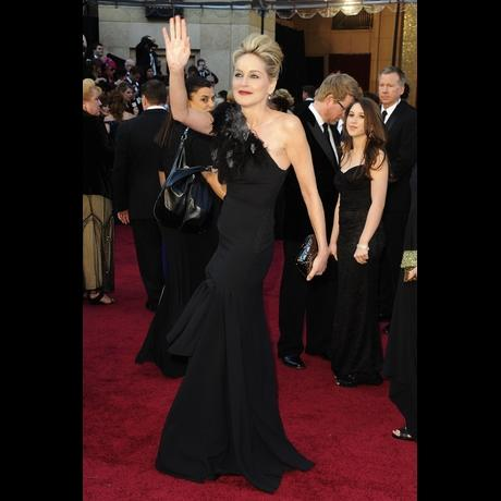 Sharon Stone at Academy Awards 2011