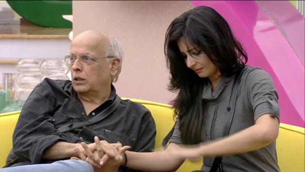Mahesh With Shonali