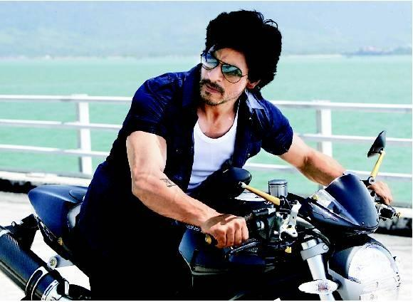 SRK on Bike