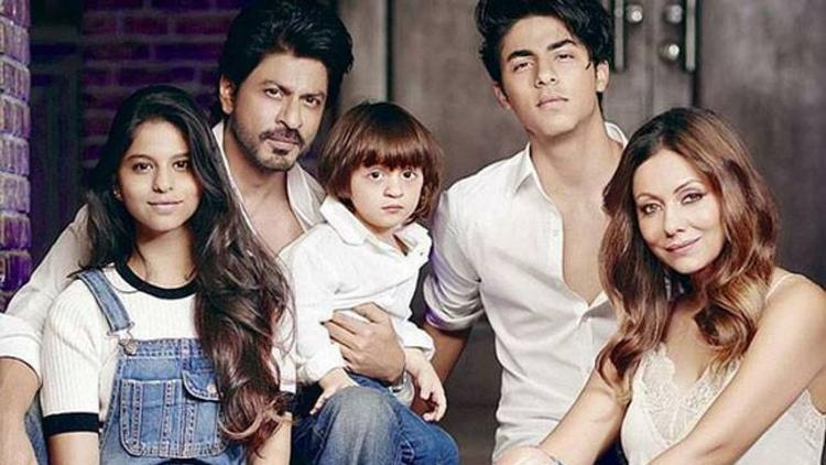 SRK with Family