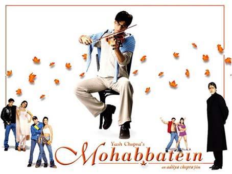 SRK in Mohabbatein