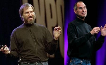 Steve Jobs Lost a lot of Weight