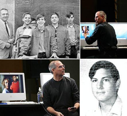 Steve Jobs in Highschool