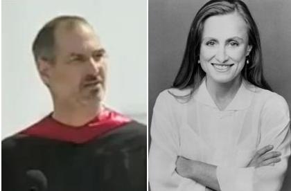 Steve Jobs and Biological Sister Mona Simpson