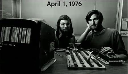Steve Jobs and Buddy Steve Wazniak