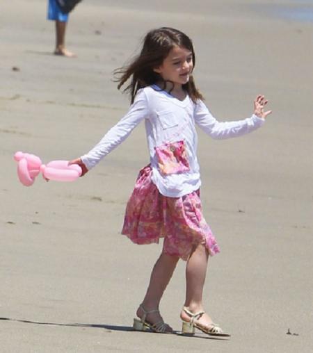 Suri on Beach