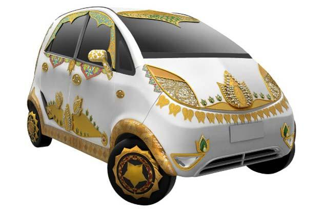 Tata Gold Plus Nano 2 - In Goddess Laxmi Theme