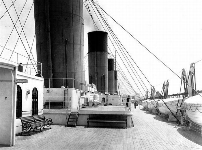 Titanic - little towers