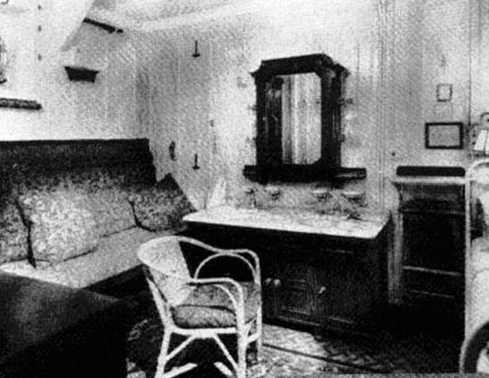 Titanic - A view of inside of a room
