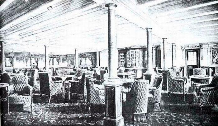 Titanic - Party hall
