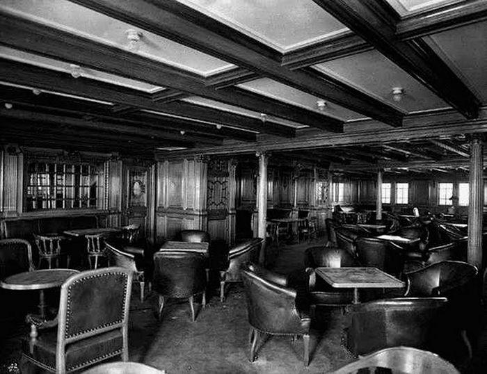 Titanic - Party hall - 2nd class