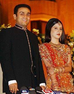 Virender Sehwag Wedding Reception