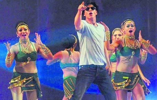 Shahrukh Khan Performing In Inagural Ceremony Of Kabaddi World Cup 2011