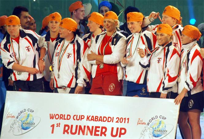 World Cup Kabaddi 2011 Women UK Team