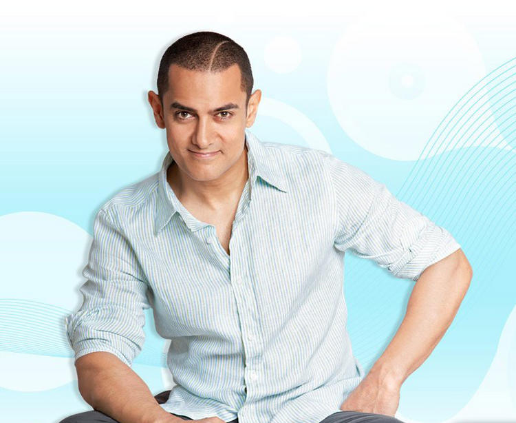 Aamir Khan hair style cute wallpaper