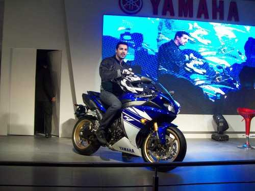 John Abraham With R Bike