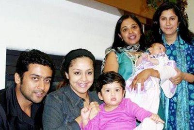 Actor Surya Family Photos Telugu Actor Surya Family
