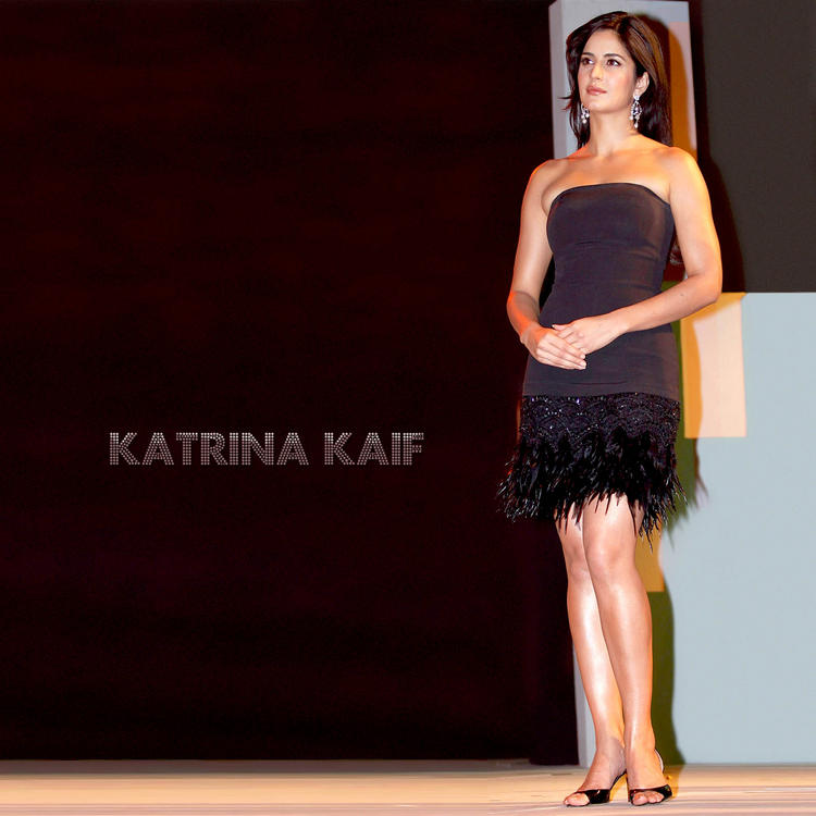Katrina Kaif Sleeveless Dress Awesome Still