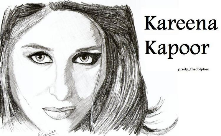 Sketches of Kareena Kapoor