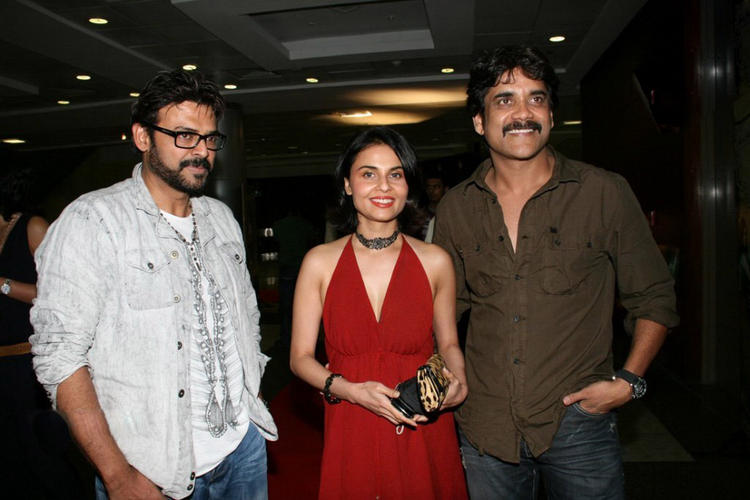 Venkatesh and Nagarjuna photos