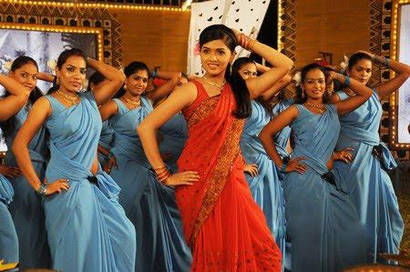 Thiruthani sunaina hot sexy saree stills