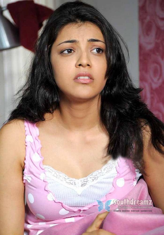 South Indian Actress Kajal Agarwal Hot Glamour Stills Telugu