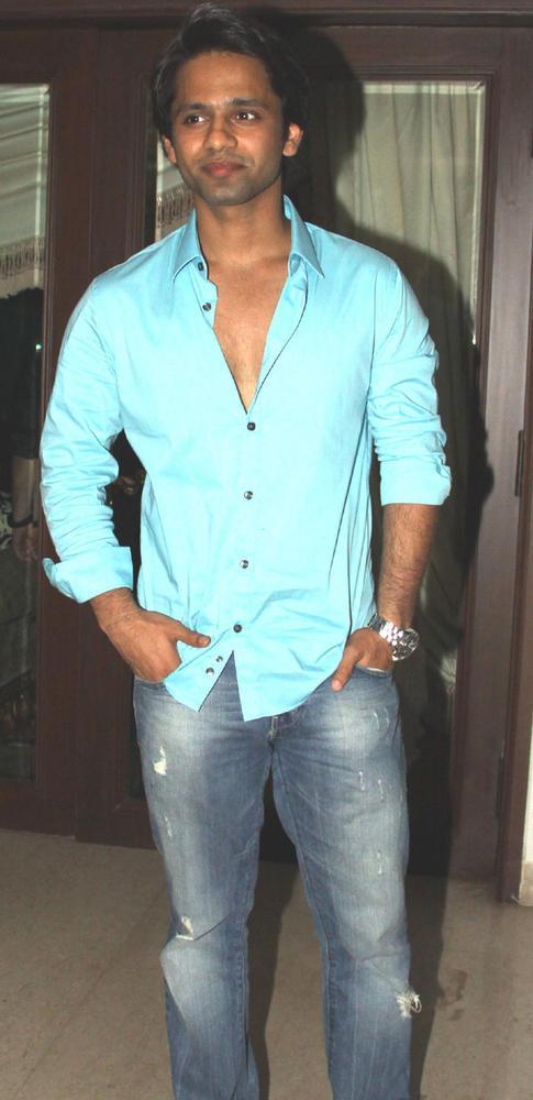 Rahul Vaidya at Mika Singh Birthday Bash