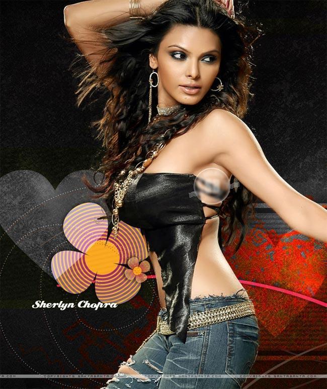 Sexiest Diva Sherlyn Chopra Photo Shoot For Playboy