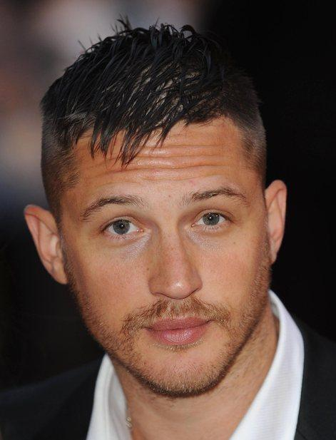 tom hardy hairstyle : Tom Hardy Sexy Face Look Pic , Style Icon Tom Hardy Images Memsaab ...