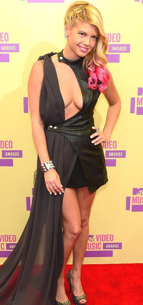 Chanel West Coast at Mtv Video Awards 2012