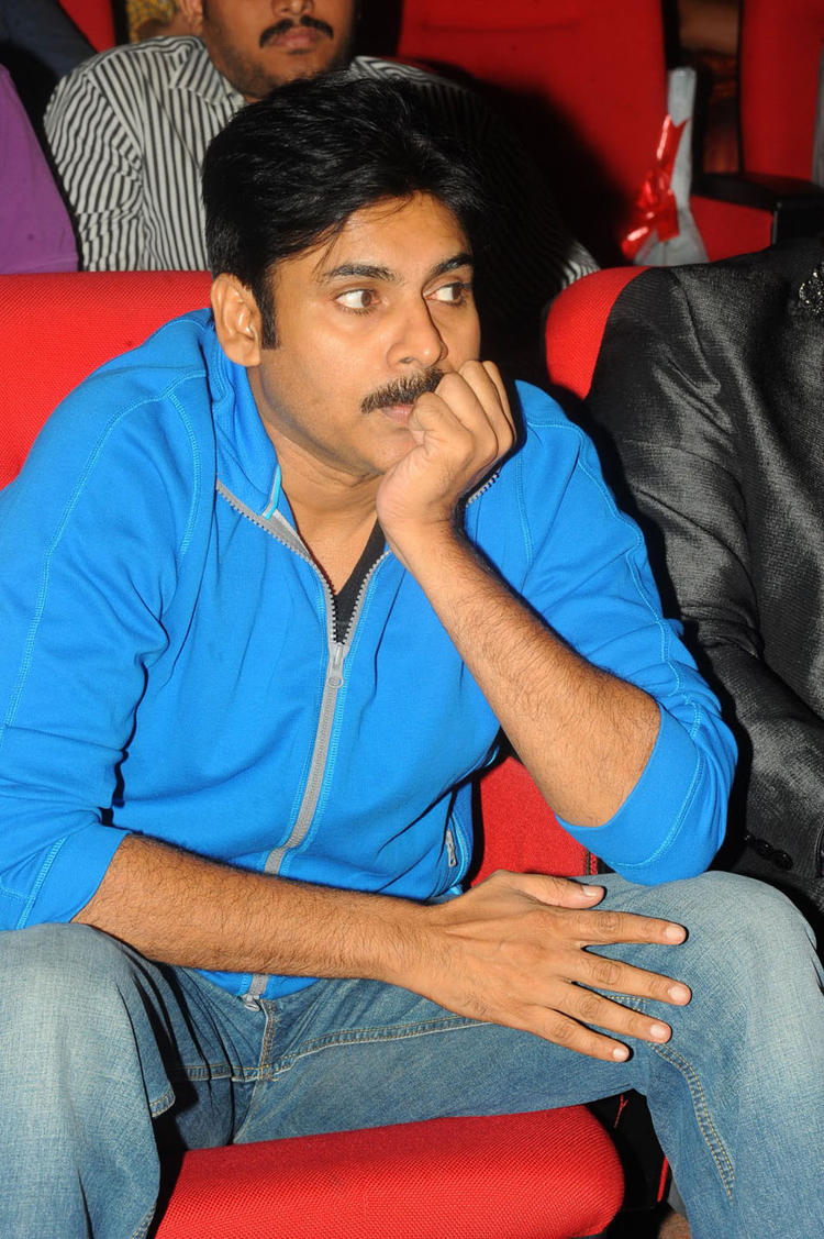 pawan kalayan at devaraya audio lanuch function, devaraya audio