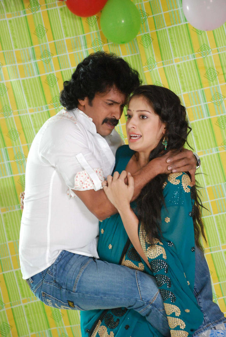 Upendra and Lakshmi Rai Exclusive Pic In Kalpana MovieUpendra In Upendra Movie