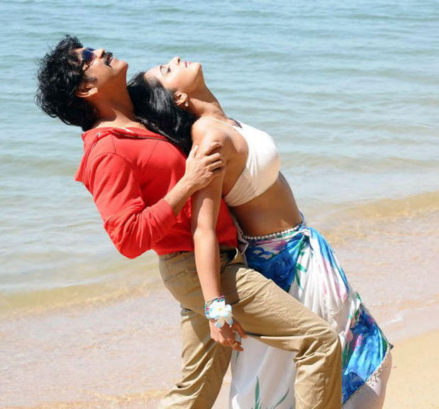 Nagarjuna and Anushka Hot Song Sexy Still In Damarukam Movie