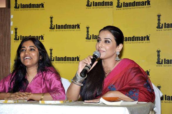 Vidya Balan at Unhooked Book Launch