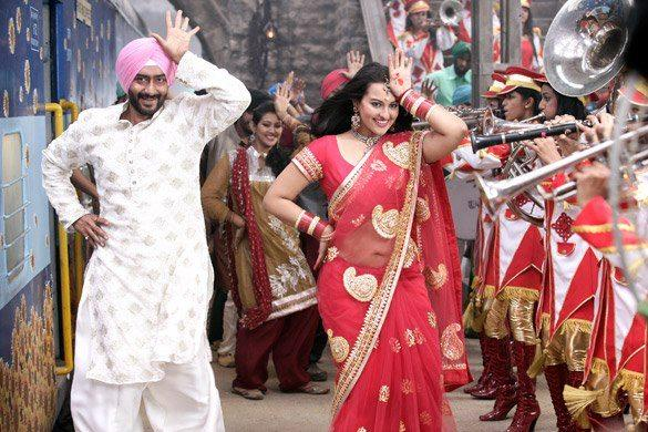 ajay and sonakshi dancing pic from son of sardar son of sardar