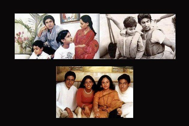 Amitabh Bachchan Family Photo