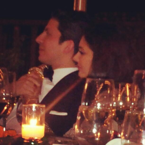 Lisa And Jason Snap Taken During Reception At California