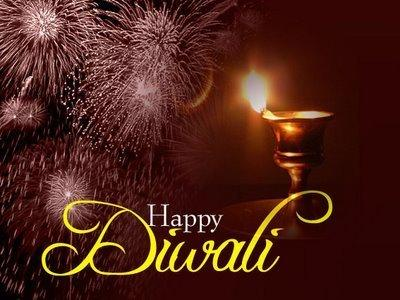 Beautiful Indian Diwali Greetings Wallpaper