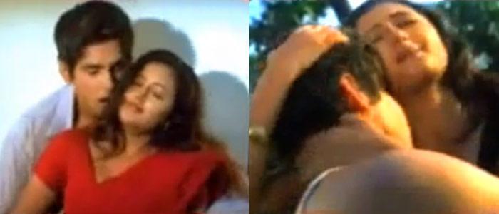 Rashmi desai hot kiss