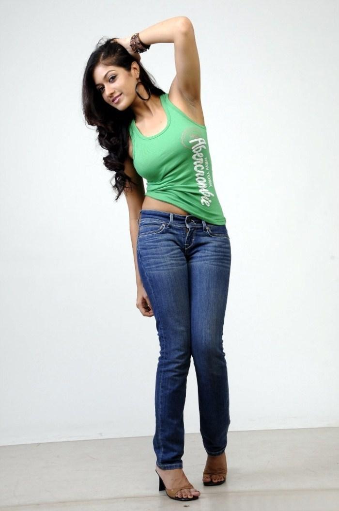 Meghana Dashing Style Photo Shoot In Jeans And Top Meghana Raj Latest Hot Photo Shoot | Memsaab.com