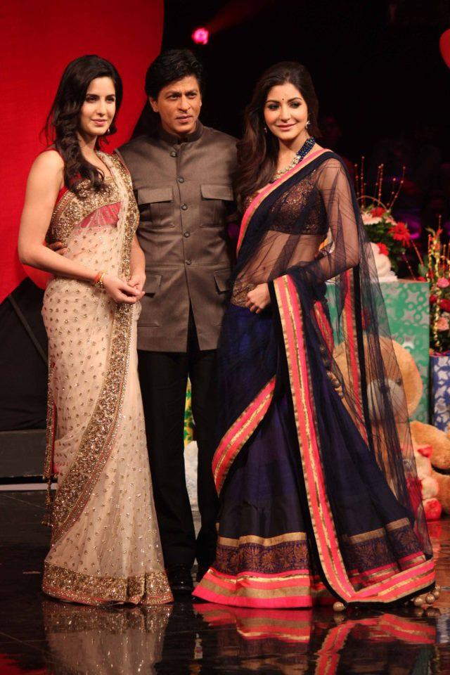 Katrina,SRK And Anushka On India's Got Talent Grand Finale To Promote JTHJ