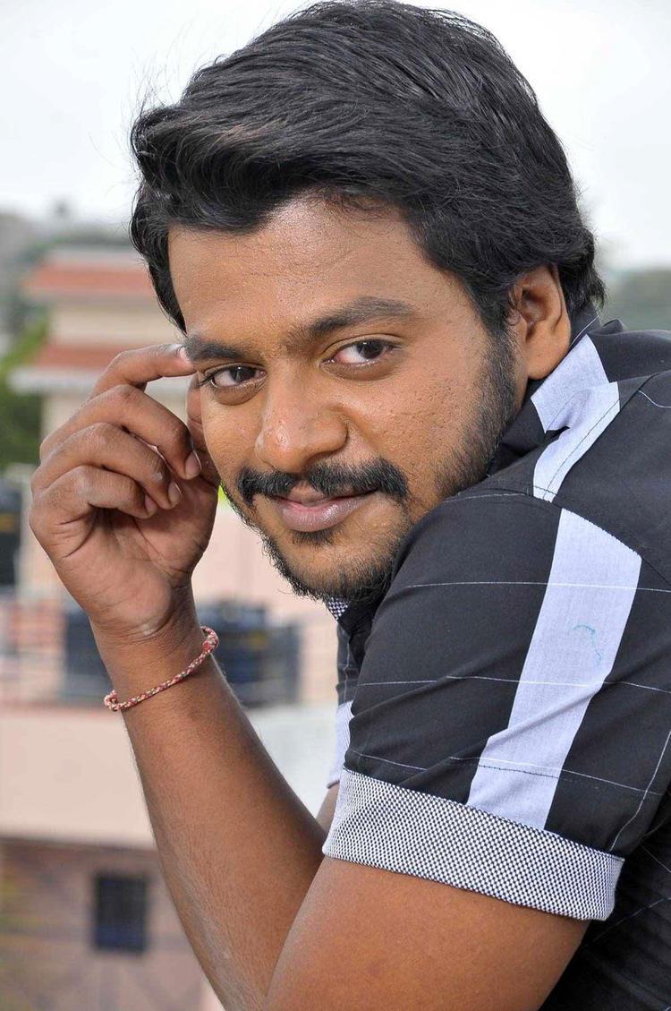 Gururaj Smiling Photo From Kannada Movie Guru
