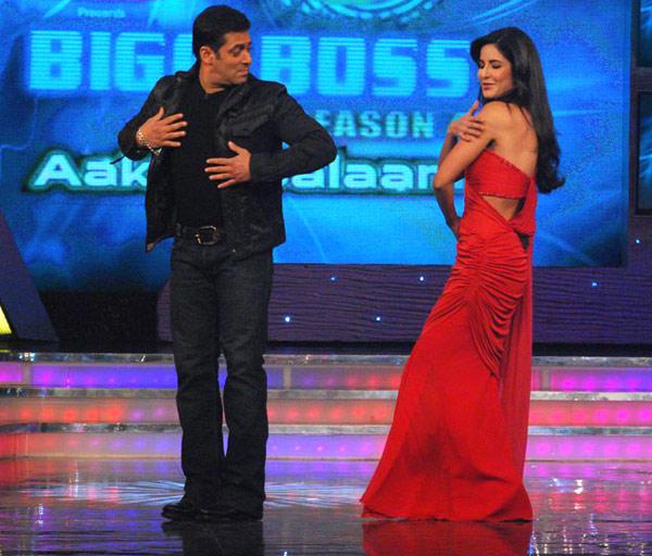 Salman And Katrina Shake Their Legs On Bigg Boss 4