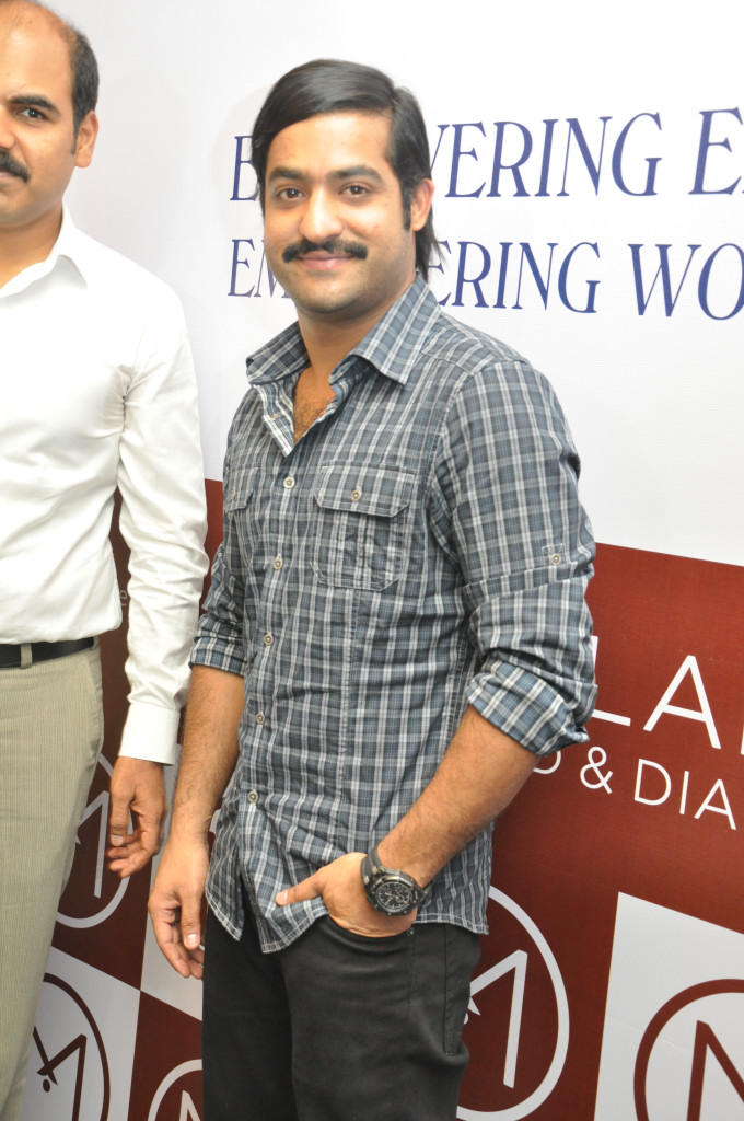Jr Ntr Cute Smiling Still At Malabar Gold And Dimond Launch Event
