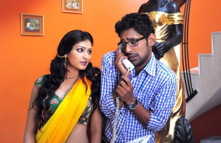 Haripriya And Varun Acting Still From Abbai Class-Ammayi Mass Movie