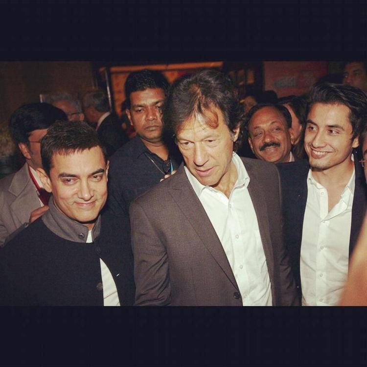 Aamir Imran And Ali Zafar  Ali Zafar And Aamir Khan